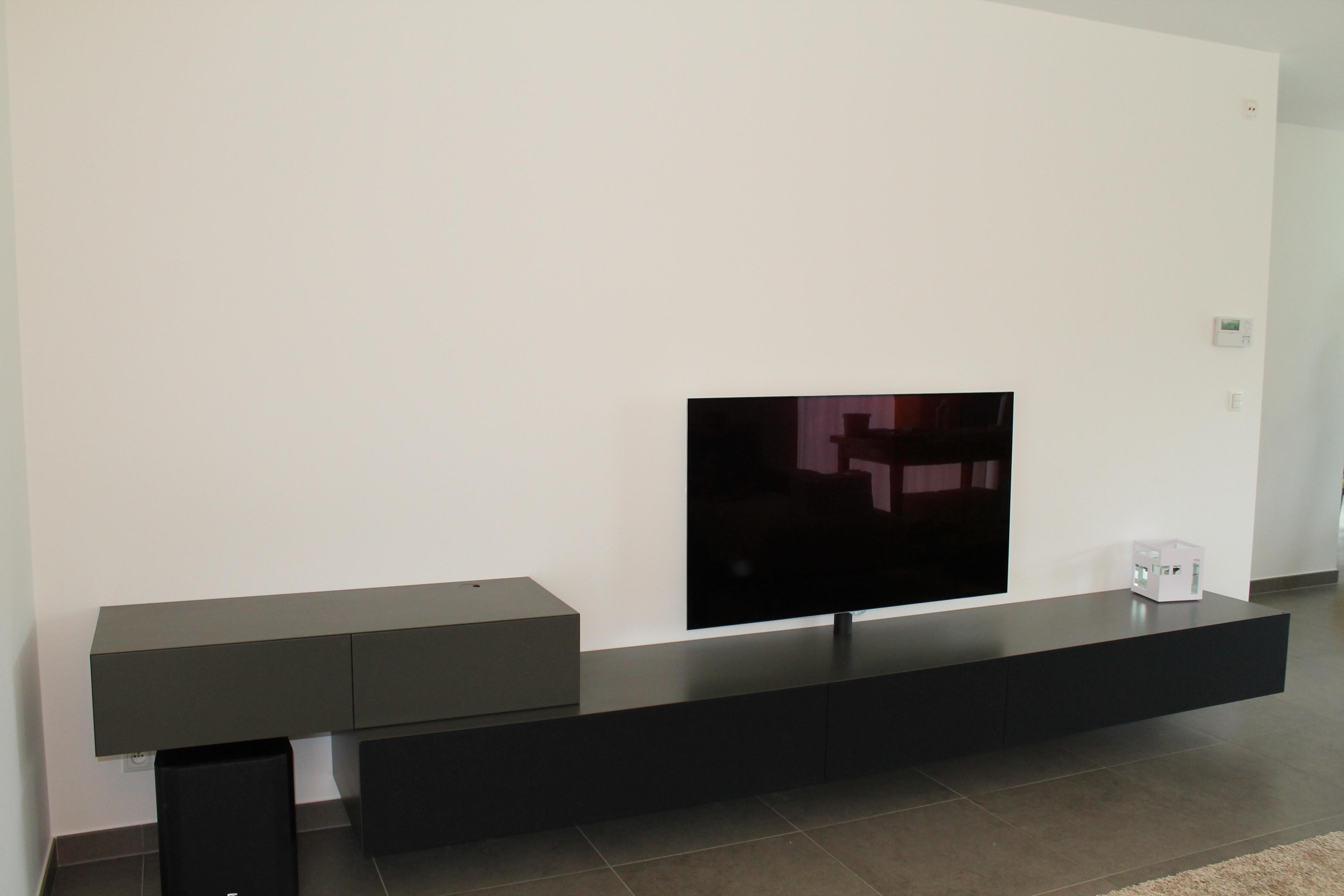 tv kast. ardeno joy! meubel op maat met draaibare tv beugel kast
