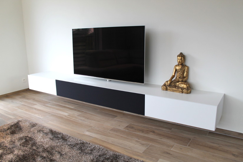 Tv Meubel Wand.Tv Kasten Com